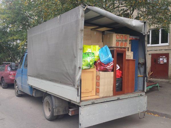 Квартирный переезд на газели - перевезли 1 комнатную квартиру