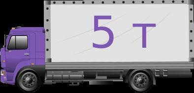 Грузовик-тент 5 тонн