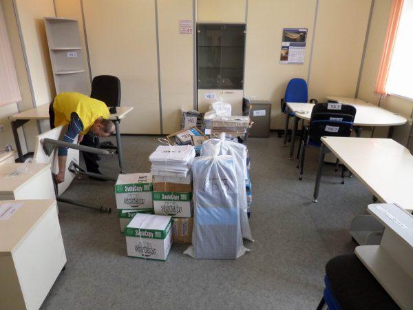 Упаковка вещей перед переездом