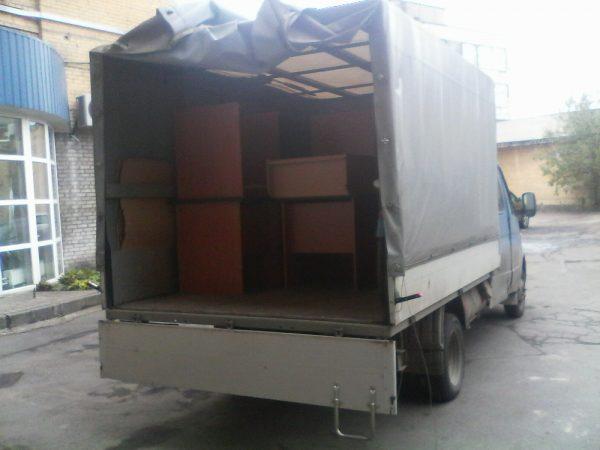 Квартирный переезд на газели - перевозка вещей