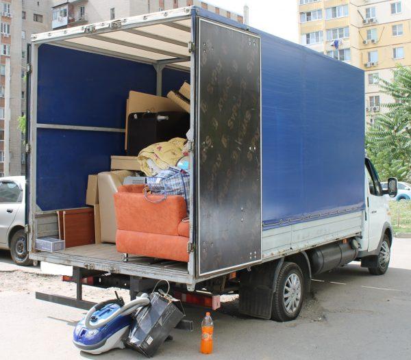 Квартирный переезд на газели по Москве